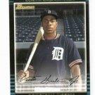2002 Bowman Draft Curtis Granderson ROOKIE Detroit Tigers New York Yankees