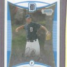 2008 Bowman Draft Chrome Ryan Perry ROOKIE Detroit Tigers