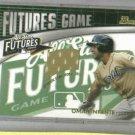2003 Bowman Futures Omar Infante Jersey Rookie Detroit Tigers