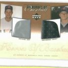 2001 Upper Deck Heros Of Baseball Jeremy Bonderman Jersey Rookie Detroit Tigers