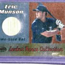 2000 Bowmans Best Eric Munson Bat Card Detroit Tigers