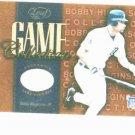 2002 Leaf Game Collection Bobby Higginson Bat Card Detroit Tigers