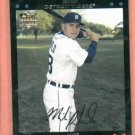 2007 Topps Mike Rabelo Detroit Tigers Rookie Card