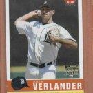 2006 Fleer Tradition Justin Verlander ROOKIE Detroit Tigers