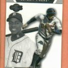 2007 Topps Cosigners Curtis Granderson Detroit Tigers