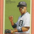2009 Goudey Curtis Granderson Detroit Tigers