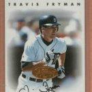 1996 Leaf Signature Travis Fryman Autograph Detroit Tigers Auto