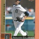 2009 Upper Deck First Edition Armando Galarraga Detroit Tigers
