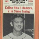 1961 Baseball Scoops Al Kaline Detroit Tigers Oddball