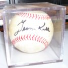 George Kell Autographed Baseball Detroit Tigers Hall Of Fame