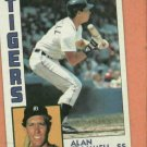 1984 Topps Alan Trammell Detroit Tigers World Series