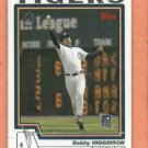 2004 Topps First Edition Bobby Higginson Detroit Tigers