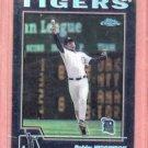 2004 Topps Black Chrome Bobby Higginson Detroit Tigers