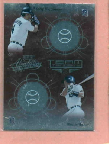 2002 Playoff Absolute Red Bobby Higginson Detroit Tigers