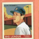 2007 Goudey Mini Alan Trammell Detroit Tigers