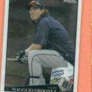 2009 Topps Chrome Magglio Ordonez Detroit Tigers