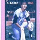 Oddball Al Kaline Baseball Card Detroit Tigers Serial #d to 500