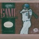 2002 Leaf Game Collection Juan Encarnacion Bat Card Detroit Tigers