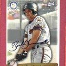 1998 Best Card Bubba Trammell Certified Autograph Detroit Tigers Toledo Mud Hens