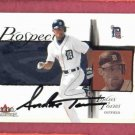 2002 Fleer Tradition Andres Torres AUTO Detroit Tigers ROOKIE