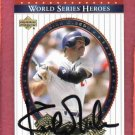 2002 Upper Deck World Series Heroes Kirk Gibson Autograph Detroit Tigers
