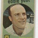 1959 Topps Eddie Yost Detroit Tigers # 2 NICE !!! White Back
