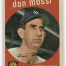 1959 Topps Don Mossi Detroit Tigers # 302       NICE !!!
