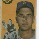 1954 Topps Frank House Detroit Tigers Baseball Card #163