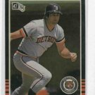 1985 Donruss Kirk Gibson Detroit Tigers Baseball Card