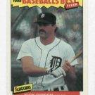 1986 Fleer Baseballs Best Sluggers Kirk Gibson Detroit Tigers Baseball Card