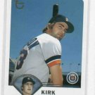 2003 Topps Kirk Gibson Detroit Tigers Baseball Card