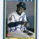 2002 Fleer Platinum Dmitri Young Detroit Tigers Autograph Baseball Card Auto