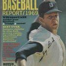 Baseball Report Magazine 1969 Mickey Lolich Detroit Tigers Autograph Auto