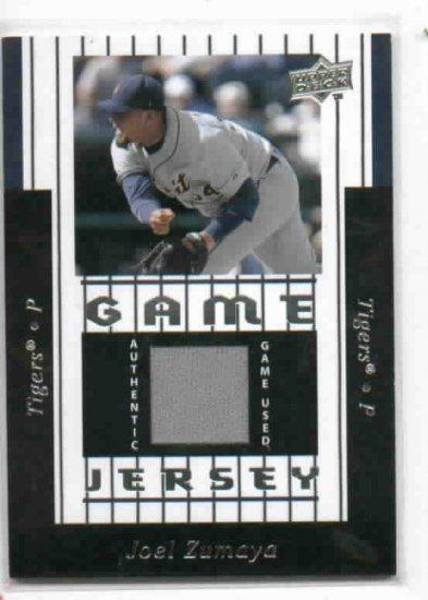 2008 Upper Deck Series 2 Joel Zumaya Detroit Tigers Game Jersey Baseball Card