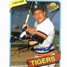 2003 Topps Fan Favorites Lance Parrish Detroit Tigers Autographed Baseball Card Auto