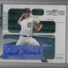 2004 Donruss Boys Of Summer Jack Morris Detroit Tigers Certified Autograph Baseball Card Auto