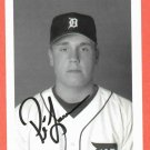Preston Larrison Detroit Tigers Autograph Photo