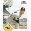 2003 Fleer Tradition Jim Bunning Detroit Tigers Baseball Card SP