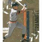 2004 Donruss Leather & Lumber Alan Trammell Detroit Tigers Baseball Card