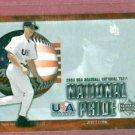 2003 Upper Deck USA Jeff Larrish Detroit Tigers Baseball Card Rookie