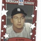 2002 Topps American Pie Sluggers Red Al Kaline Detroit Tigers Baseball Card