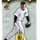 2009 Upper Deck SP Authentic Platinum Power Justin Verlander Detroit Tigers Baseball Card