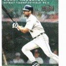 2000 Metal Emerald Bobby Higginson Detroit Tigers Baseball Card