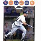 2008 Topps Chrome Placido Polanco Detroit Tigers Baseball Card