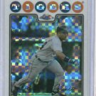 2008 Topps Chrome Refractor Placido Polanco Detroit Tigers Baseball Card