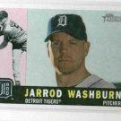 2009 Topps Heritage Jarrod Washburn Detroit Tigers Baseball Card