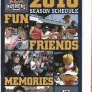 2010 Toledo Mud Hens Pocket Schedule