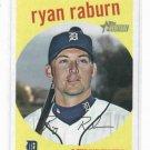 2008 Topps Heritage Ryan Raburn Detroit Tigers Baseball Card