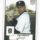 2007 Topps 52 Jair Jurrjens Detroit Tigers Baseball Card Rookie