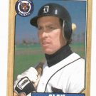 1987 Topps Alan Trammell Detroit Tigers Baseball Card
